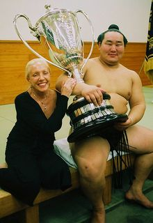 The Yokozuna and Me and the Emperor's Cup